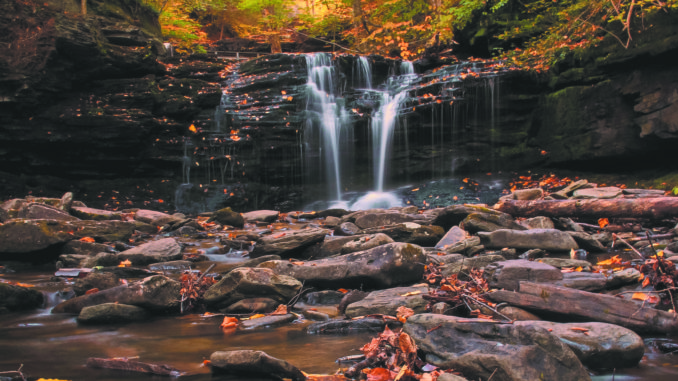Need some reasons to hike the waterfalls at Ricketts Glen State Park this  fall  e9ff8ebe66